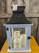 Three candle lantern