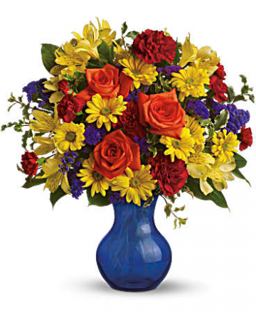 Three Cheers for You fresh floral arrangement