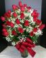 Three Dozen Freedom Roses Arranged