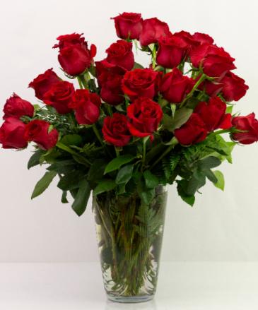 Three Dozen Red Roses