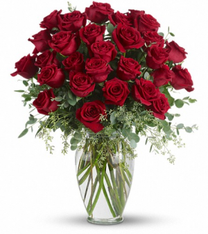Three Dozen Rose Arrangement Rose Arrangement in Tulsa, OK | THE WILD ORCHID FLORIST