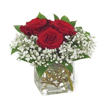 Three's A Charm Rose Bouquet Item #73-11KM