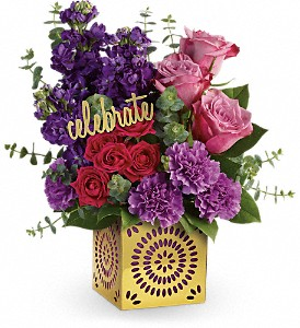 THRILLED FOR YOU (out of container till March can make in glass cube) in Fort Lauderdale, FL | ENCHANTMENT FLORIST