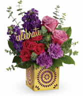 Thrilled For You Bouquet All-Around Floral Arrangement