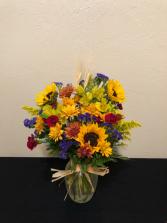 Through the Fields Vase Arrangement