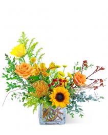 Thyme & Ginger Flower Arrangement