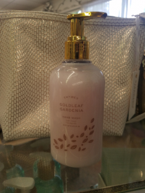 Thymes Goldleaf gardenia hand wash