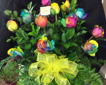 Ti-Dye Roses