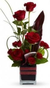 Ti Leaf & Roses