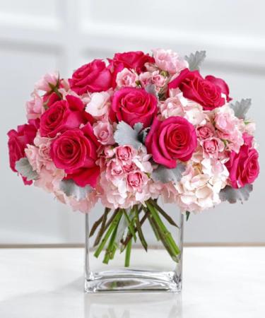 Tickled Pink  Vase Arrangement