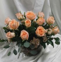 Tiffany Bowl Fresh Floral Design
