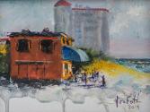 Tiffany on the Beach Original Oil by Nina Fritz