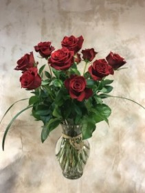 Tiger Lily Dozen Red Fair Trade Roses