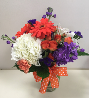 Tiger Pride Bouquet in Clemson, SC | TIGER LILY FLOWERS LLC