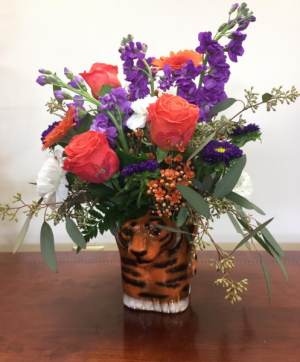 Tiger Triumph  in Clemson, SC | TIGER LILY FLOWERS LLC