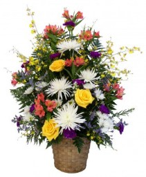 REMEMBERING YOU Basket Arrangement