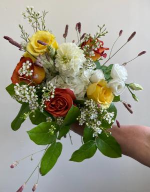 Autumn Coffee Break Cut Bouquet or vase arrangement in Northport, NY | Hengstenberg's Florist