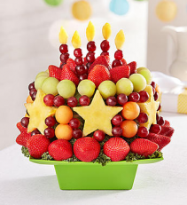 Time for Cake NO CHOCOLATE Fruit Bouquet