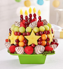 Time for cake with Chocolate 161134 Fruit Bouquet