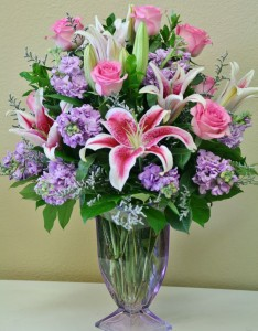 TIMELESS BEAUTY Arrangement of Flowers in Riverside, CA | Willow Branch Florist of Riverside