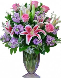 TIMELESS BEAUTY Arrangement of Flowers in Riverside, CA | Willow Branch Florist of Riverside
