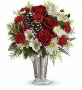 Timeless Cheer Bouquet Christmas Arrangement