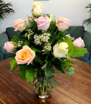 Timeless  Rose Arrangement in Bluffton, SC | BERKELEY FLOWERS & GIFTS