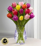Timeless Tulips in Keepsake Vase