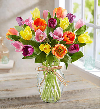 TIMELESS TULIPS BOUQUET