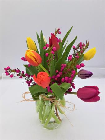 Timeless Tulips Floral Arrangement