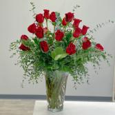 Timeless Two Dozen Vase Arrangement in Middletown, New Jersey | Fine Flowers