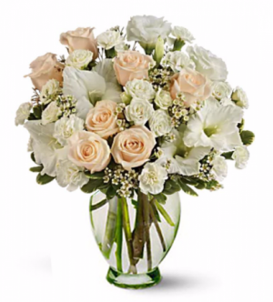 Timeless Winter Arrangement in San Bernardino, CA | INLAND BOUQUET FLORIST