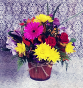 Tin Bucket Floral Design