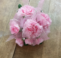 Tinkled Pink Wrist Corsage Prom