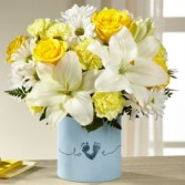 Tiny Miracle™ New Baby Boy Bouquet everyday
