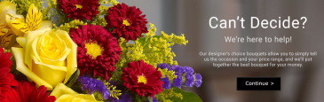 Tioga Florist Colorful Designer's Choice