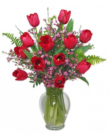 Fancy Tulips  $60.95
