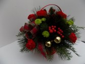 Tis the Season Basket Arrangement