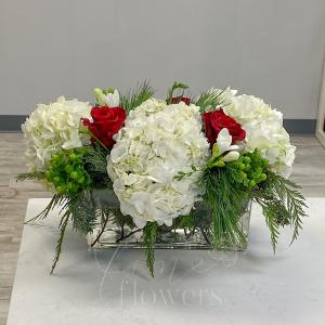 Tis the Season Vase Arrangement in Middletown, NJ | Fine Flowers