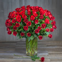 The 100 Rose Arrangement