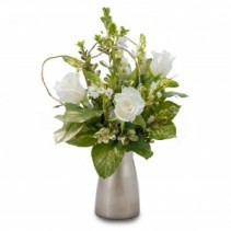 Champagne Fresh Flower Arrangement