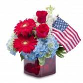 Independence Fresh Flower Arrangement