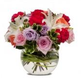 Potpourri of Roses Fresh Flower Arrangement