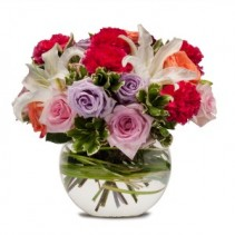 Potpourri of Roses Fresh Flower Arrangement