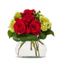 Romance Fresh Flower Arrangement