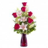 Tender Caress Fresh Flower Arrangement