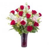 Tender Passion Fresh Flower Arrangement