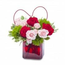 My Heart Fresh Flower Arrangement