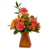 Orange Dreams Fresh Flower Arrangement