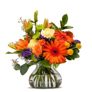 Papaya    Fresh Flower Arrangement